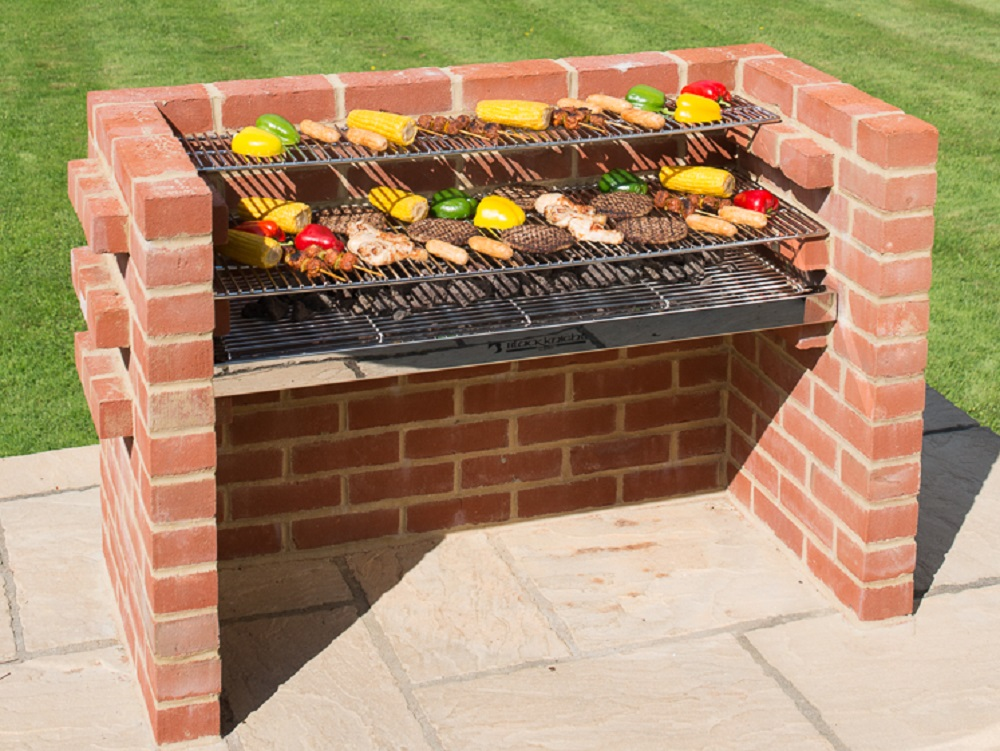 Bkb801 Extra Large 100 Stainless Steel Brick Barbecue Kit With