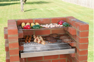 The Original Black Knight Brick Barbecue Kit